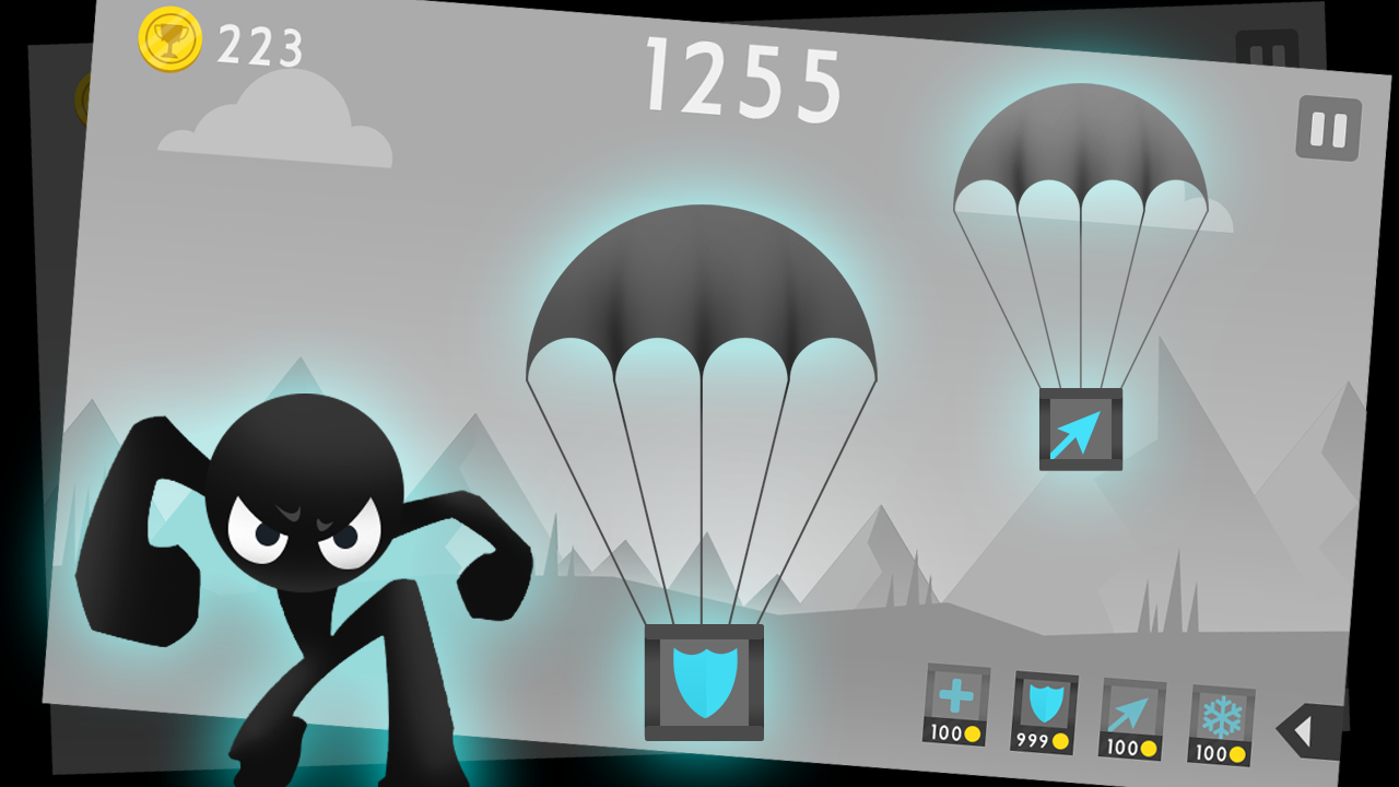 Android Stickman Archer Fight Screen 2