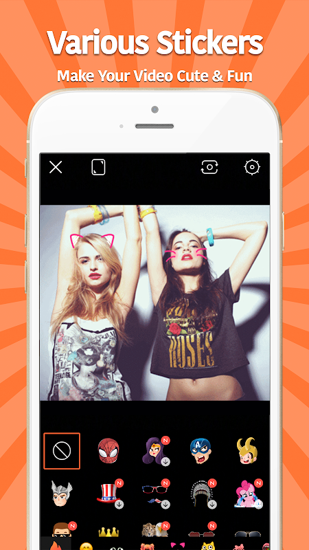 Android VivaVideo: Free Video Editor Screen 2