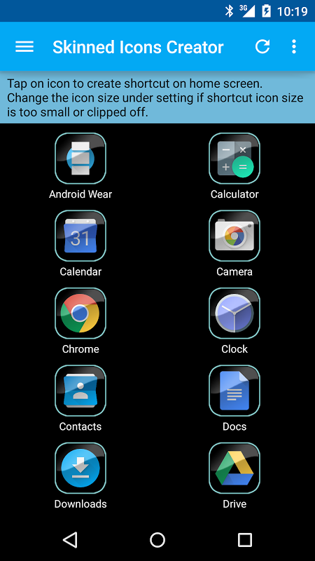 Skinned Icons Creator 2.1.0 Screen 10