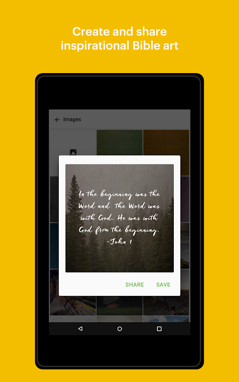 Android Bible: Daily Verse, Study, Audio and Devotions Screen 8