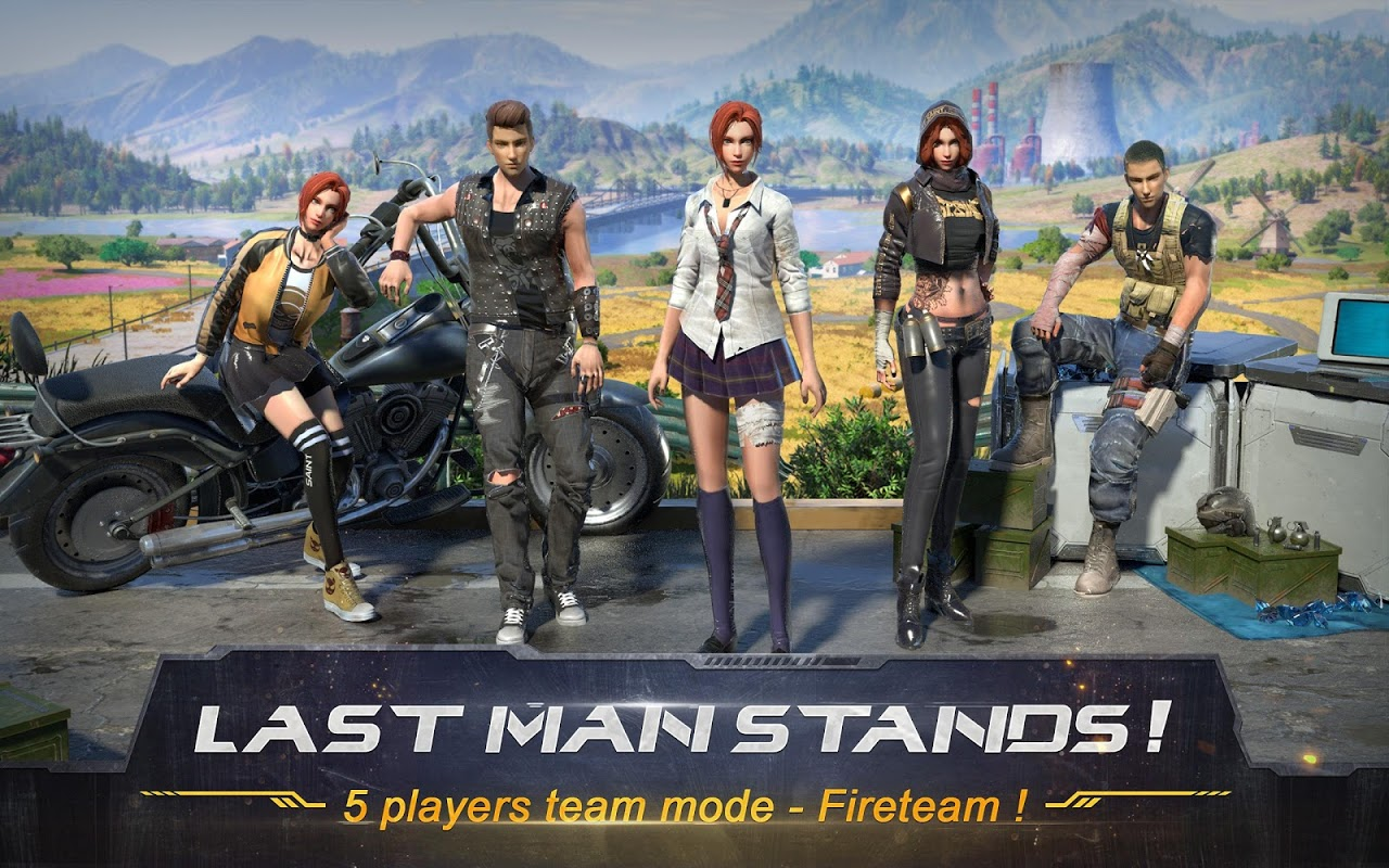 Android RULES OF SURVIVAL Screen 7