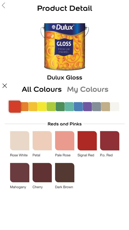 Android Dulux India Screen 4