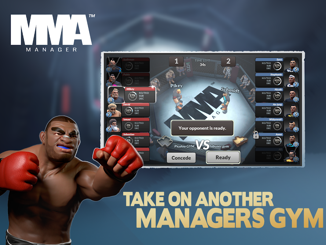 MMA Manager 0.8.4 Screen 17