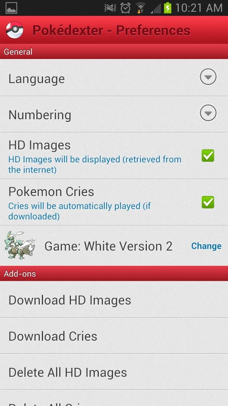 Pokédexter 2.0 Screen 7