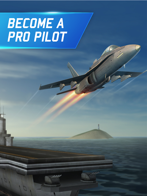 Flight Pilot Simulator 3D Free 1.4.8 Screen 4