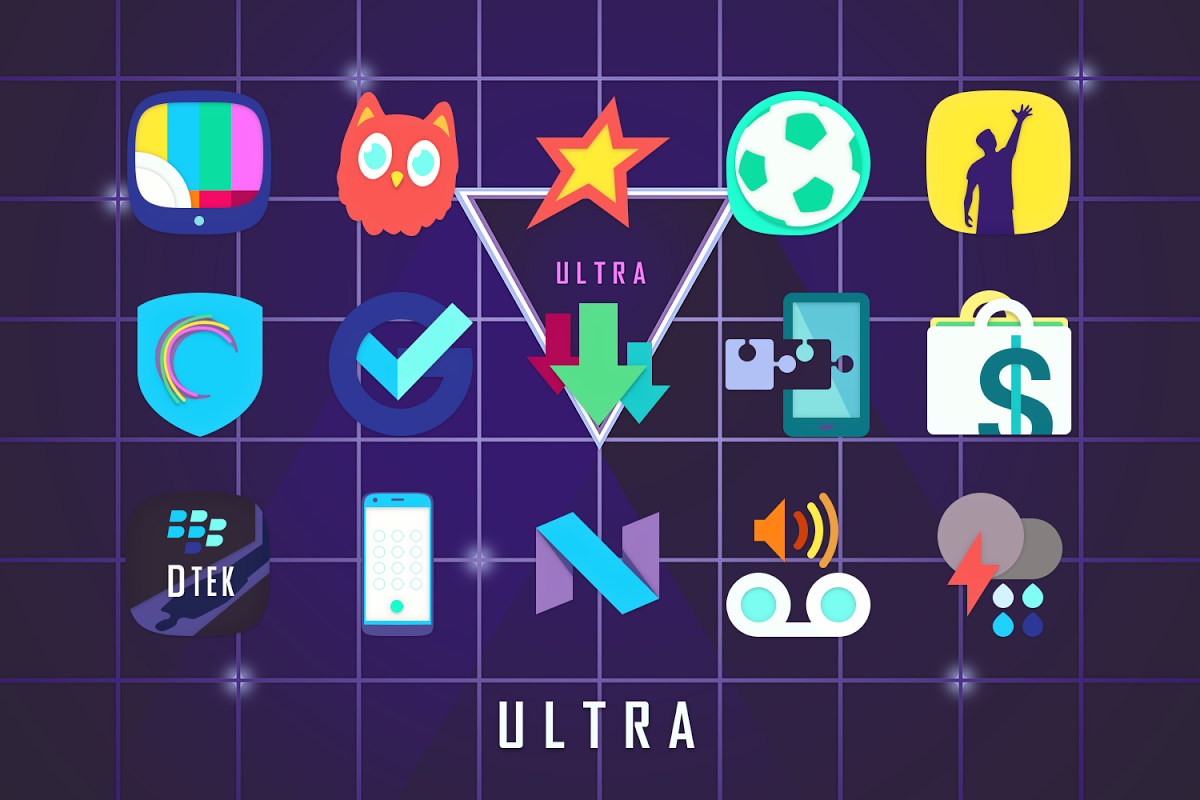 Android Ultra Icon Pack Screen 4