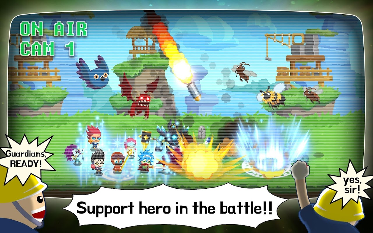 Android Videogame Guardians Screen 6