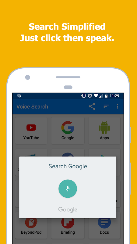 Voice Search - Speech to Text Searching Assistant 3.0.30 Screen 1