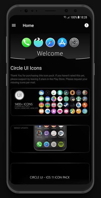 Circle UI - Icon Pack APKs   Android APK