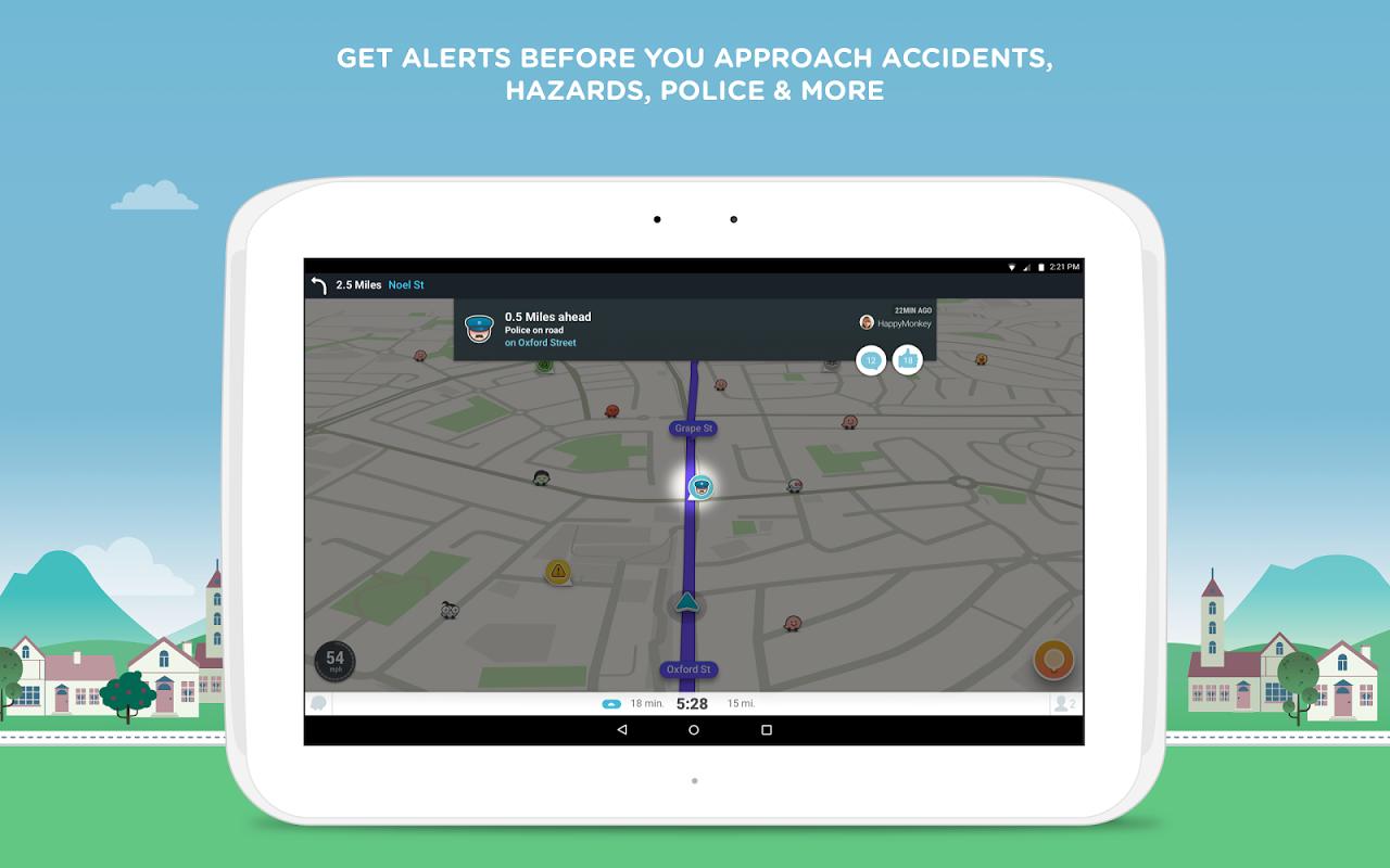 Waze - Sat Nav, Maps & Traffic 4.22.1.901 Screen 7