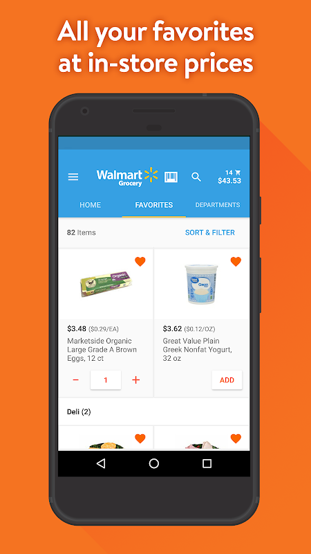 Walmart Grocery 4.6.3 Screen 3