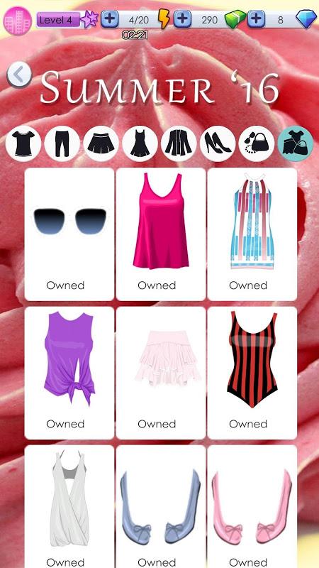 World of Fashion - Dress Up 1.4.4 Screen 3