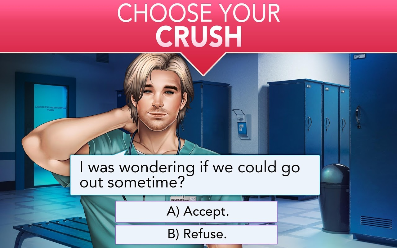 Android Is it Love? Blue Swan Hospital - Choose your story Screen 8