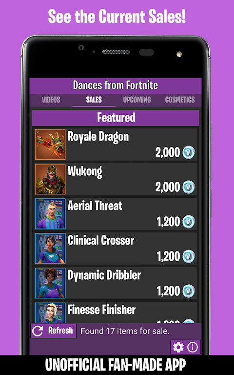 Dances from Fortnite (Ad-Free) 1.4 Screen 2