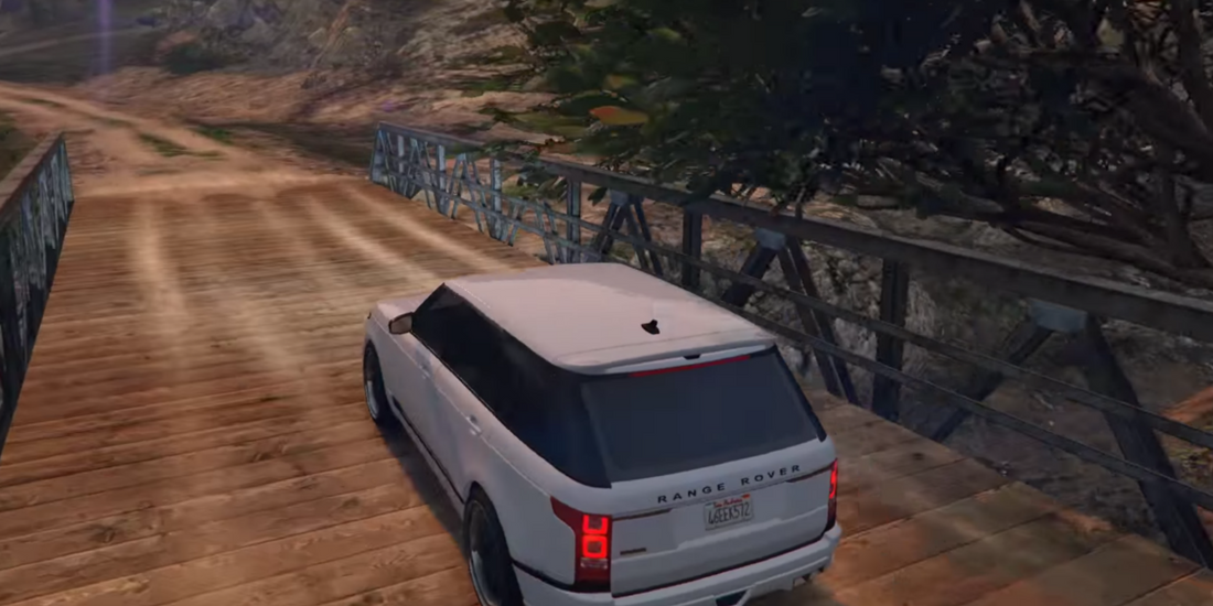 Driving Range Rover Simulator 1.1 Screen 5