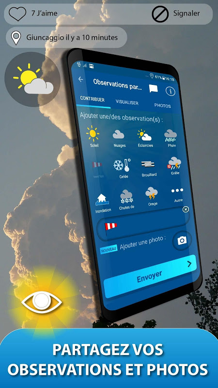 Android METEO FRANCE Screen 7
