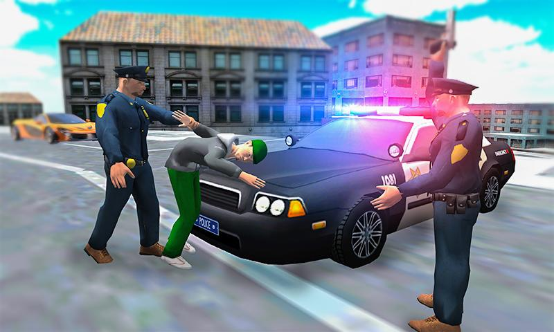 Android Vegas Gangster Squad City Police Crime Adventure Screen 1