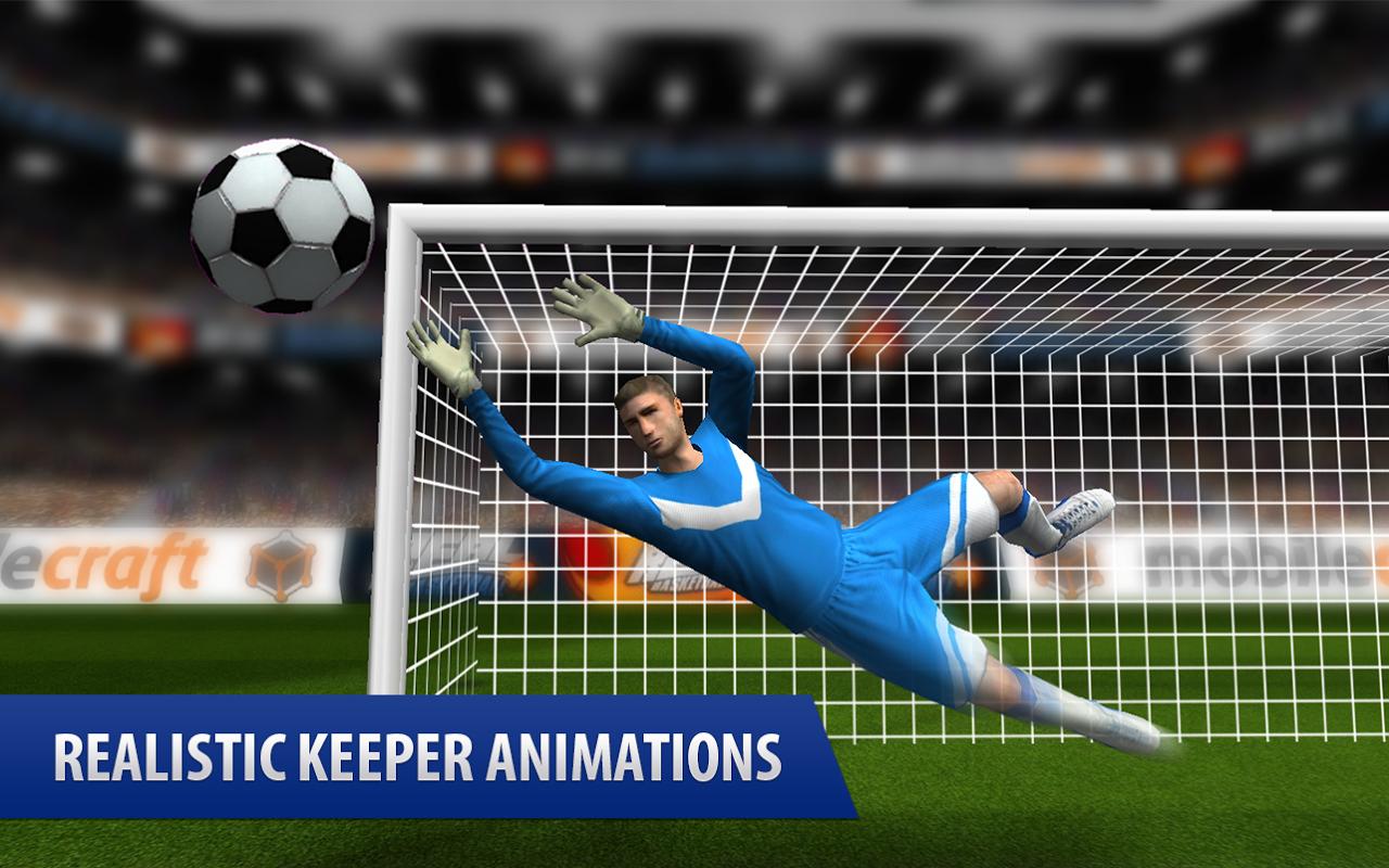 Android Flick Shoot (Soccer Football) Screen 2