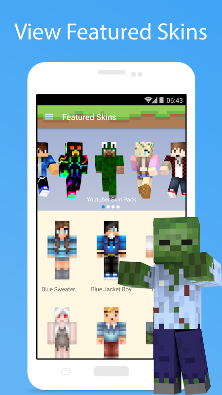 MCPE Skin Studio 4.0.1 Screen 4