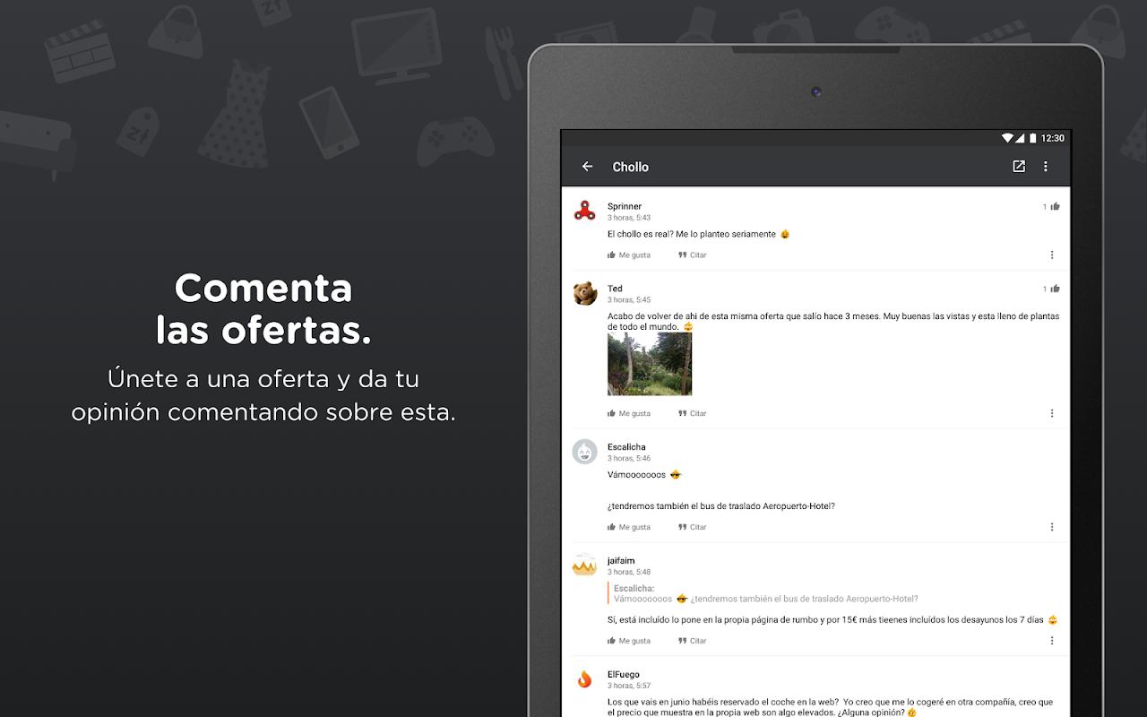 Chollometro – Chollos, ofertas y cosas gratis 5.19.03 Screen 8