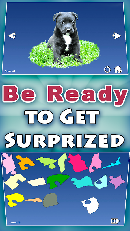 Android Shape Puzzles Pro - Assemble Screen 4