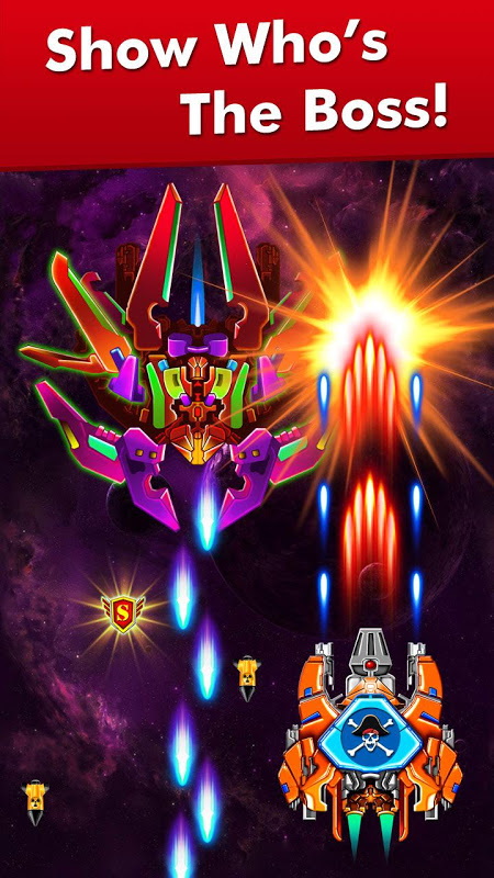 Galaxy Attack: Alien Shooter 7.13 Screen 3
