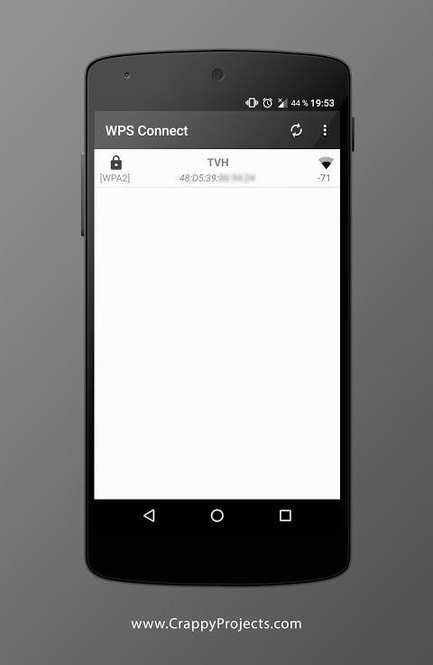 WPS Connect 1.3.6 Screen 1