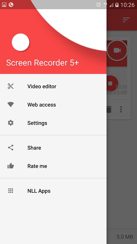 Android Screen Recorder License Screen 2