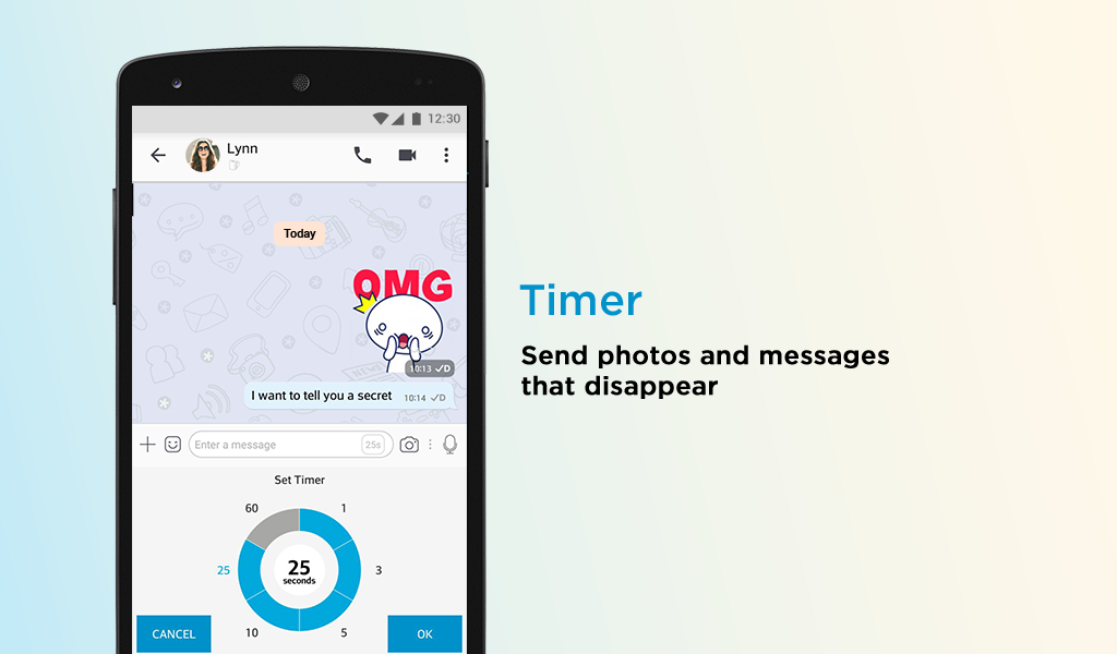 Android BBM - Free Calls & Messages Screen 13