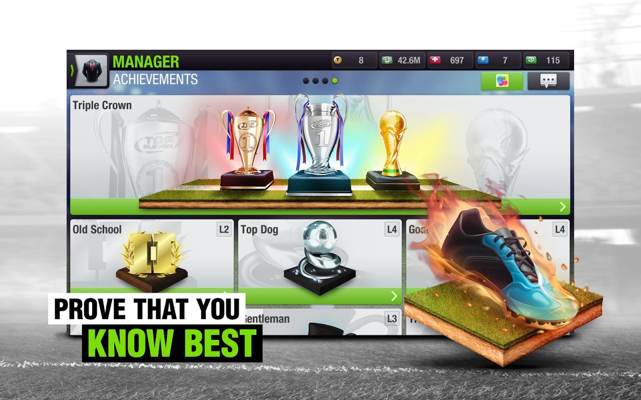 Android Top Eleven 2018 - Be a Football Manager Screen 11