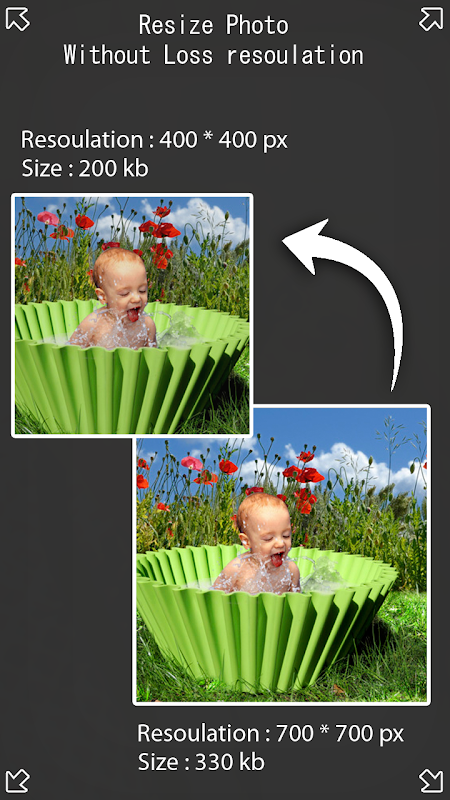 Photo Resizer - Pictures resizer 1.0 Screen 2