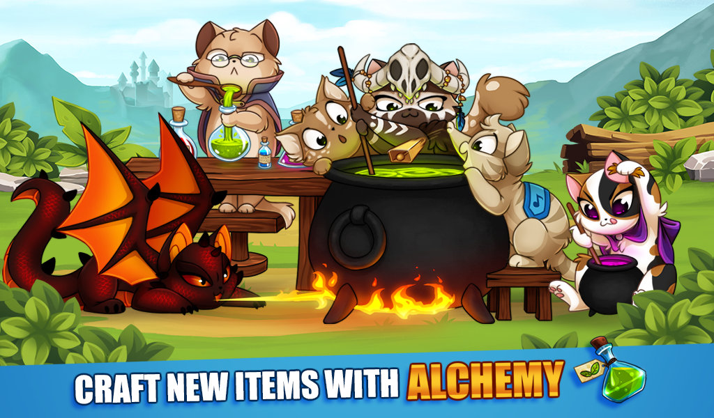 Android Castle Cats: Epic Story Quests Screen 3