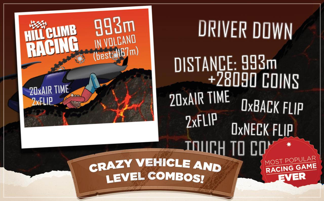 Android Hill Climb Racing Screen 5