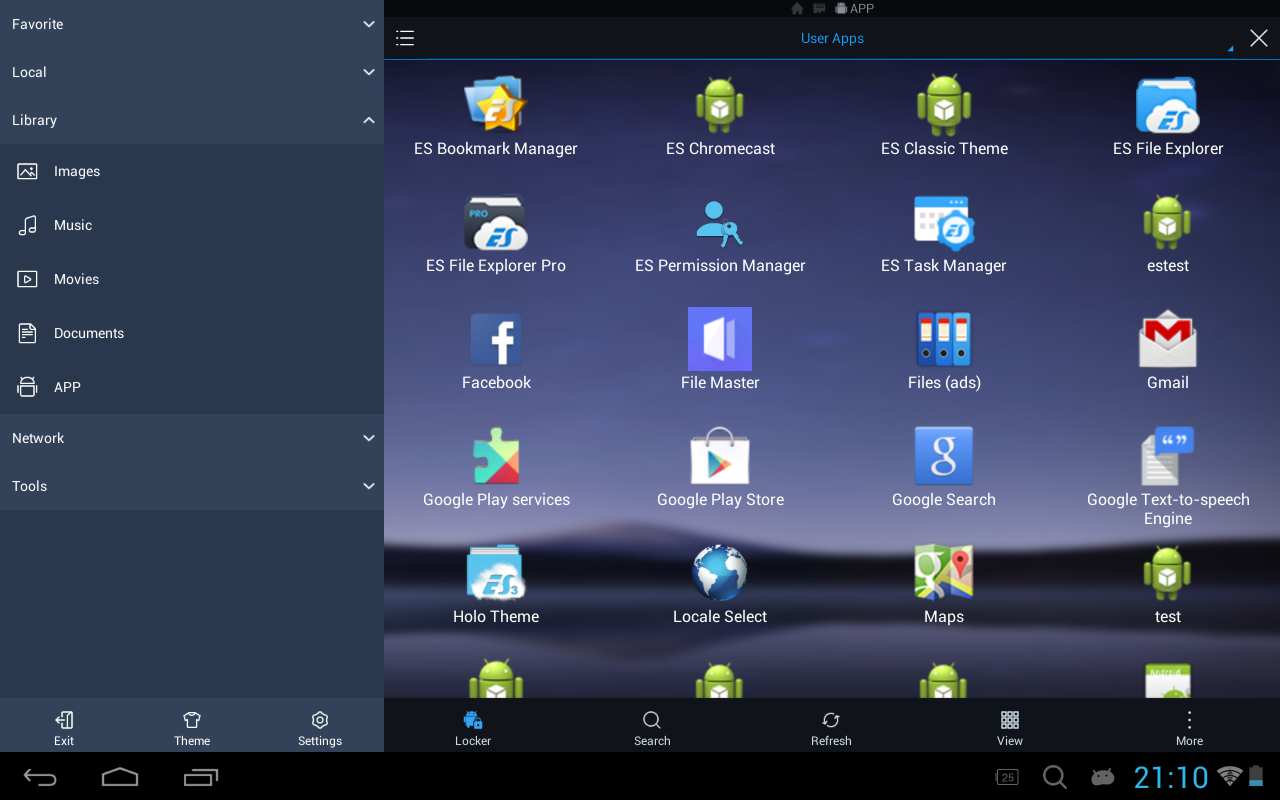 ES File Explorer/Manager PRO Pro 1.1.4.1 Screen 1