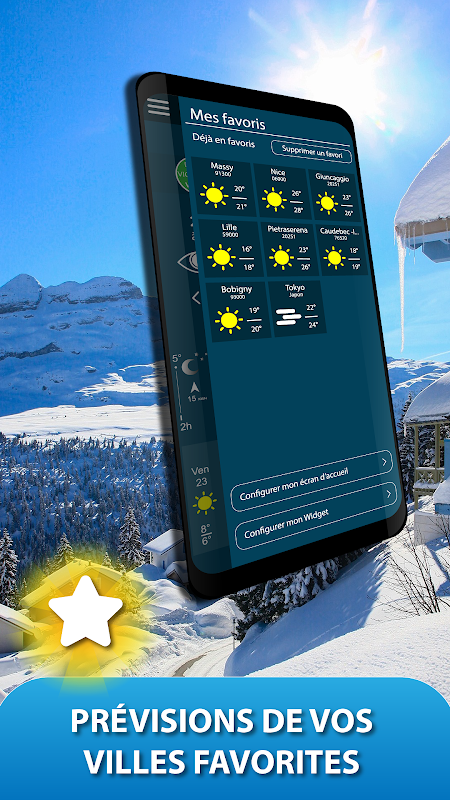 Android METEO FRANCE Screen 4