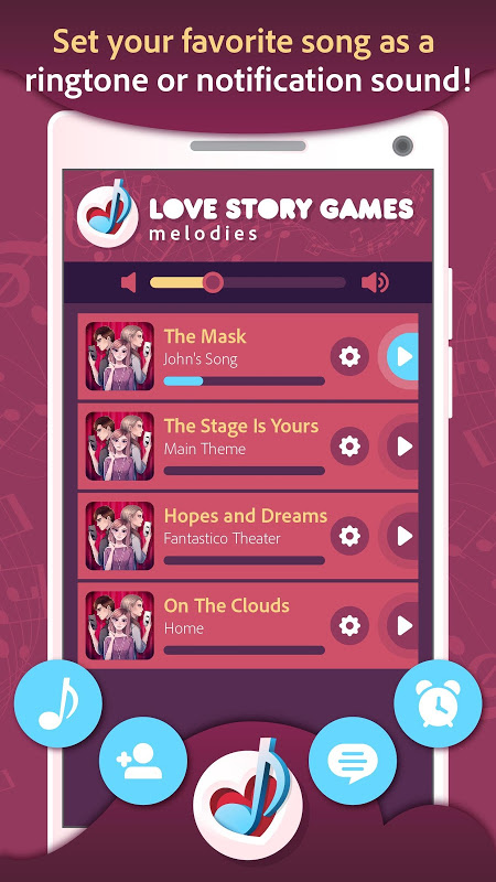 Love Story Games Melodies 1.0.3 Screen 4
