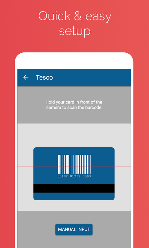 Android Stocard - Loyalty Cards Wallet Screen 2