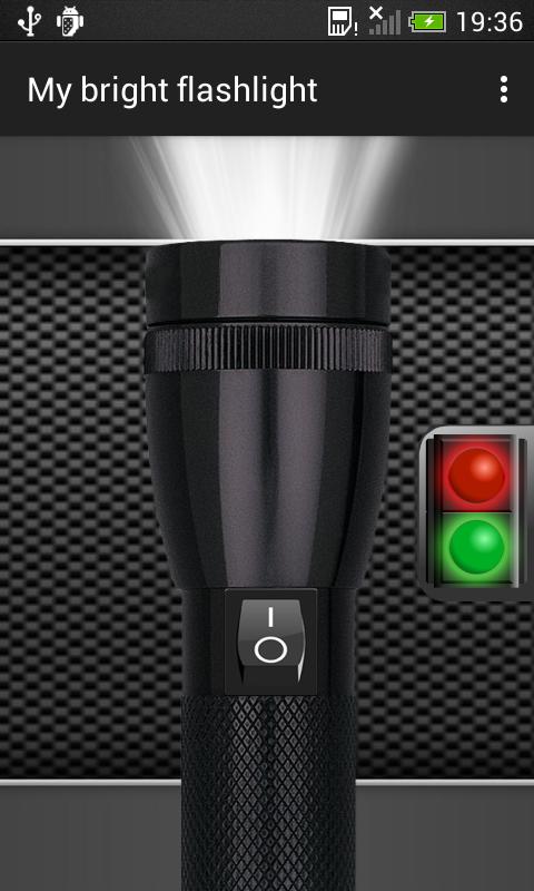 My Bright Flashlight 1.6.2 Screen 1