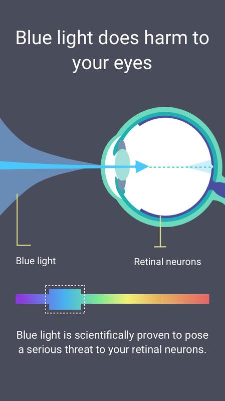 Blue Light Filter - Night Mode, Eye Care 1.4.2N Screen 4