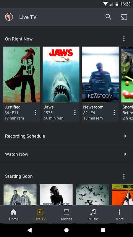 Android Plex Screen 4