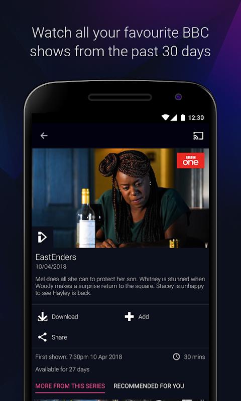 Android BBC iPlayer Screen 8