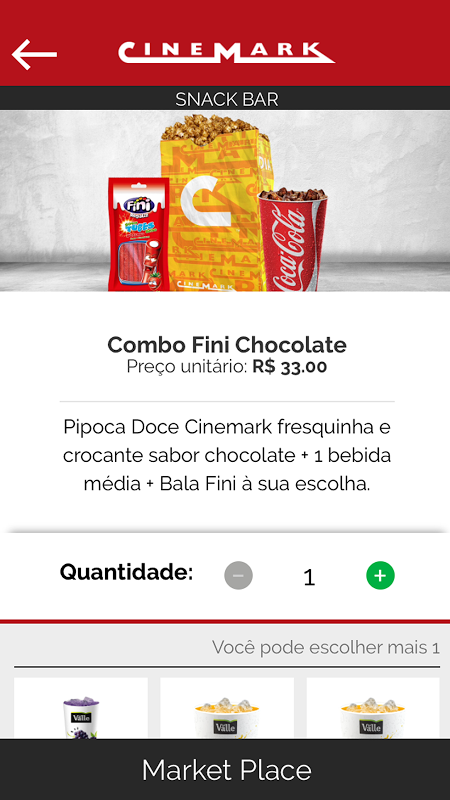 Android Cinemark Brazil Screen 4
