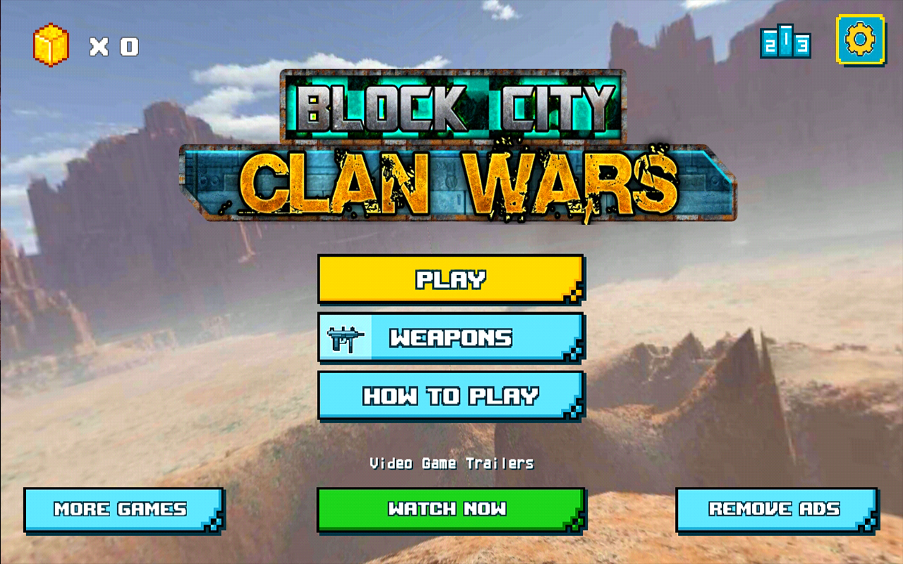 Android Block City Clan Wars Screen 6