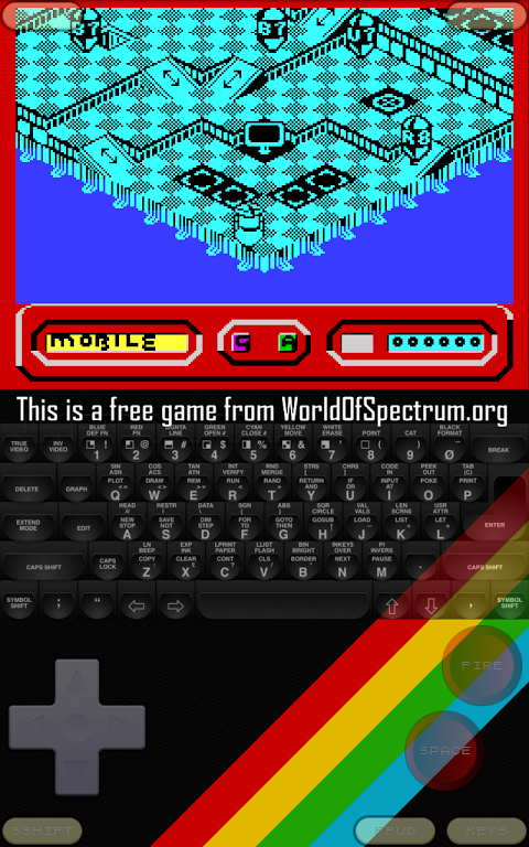 Android Speccy - ZX Spectrum Emulator Screen 4