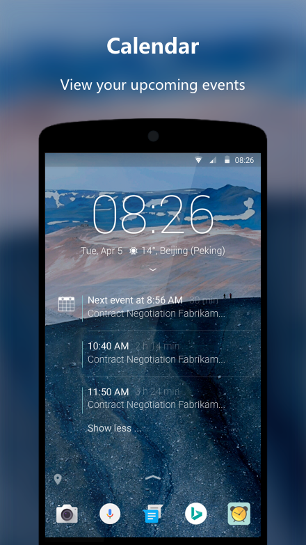 Android Next Lock Screen Screen 4