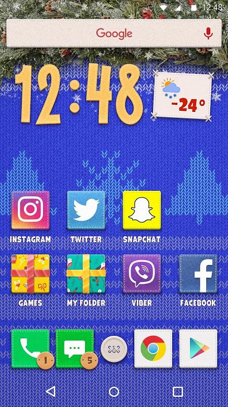 New Year Theme 1.0.3 Screen 1
