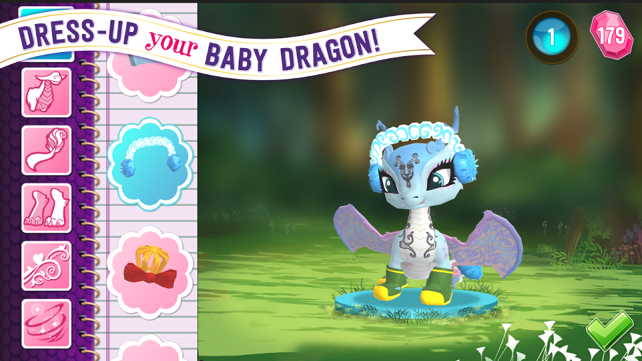 Android Ever After High™: Baby Dragons Screen 1