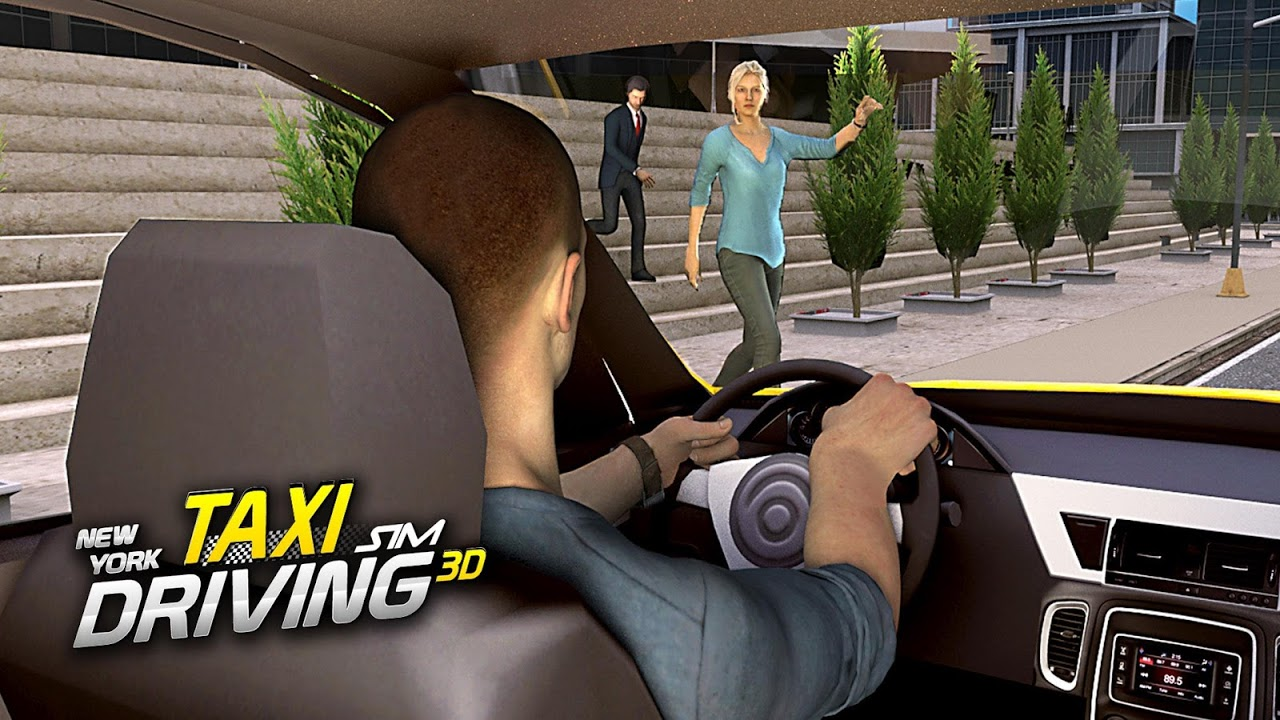 Android New York Taxi Driving Sim 3D Screen 3