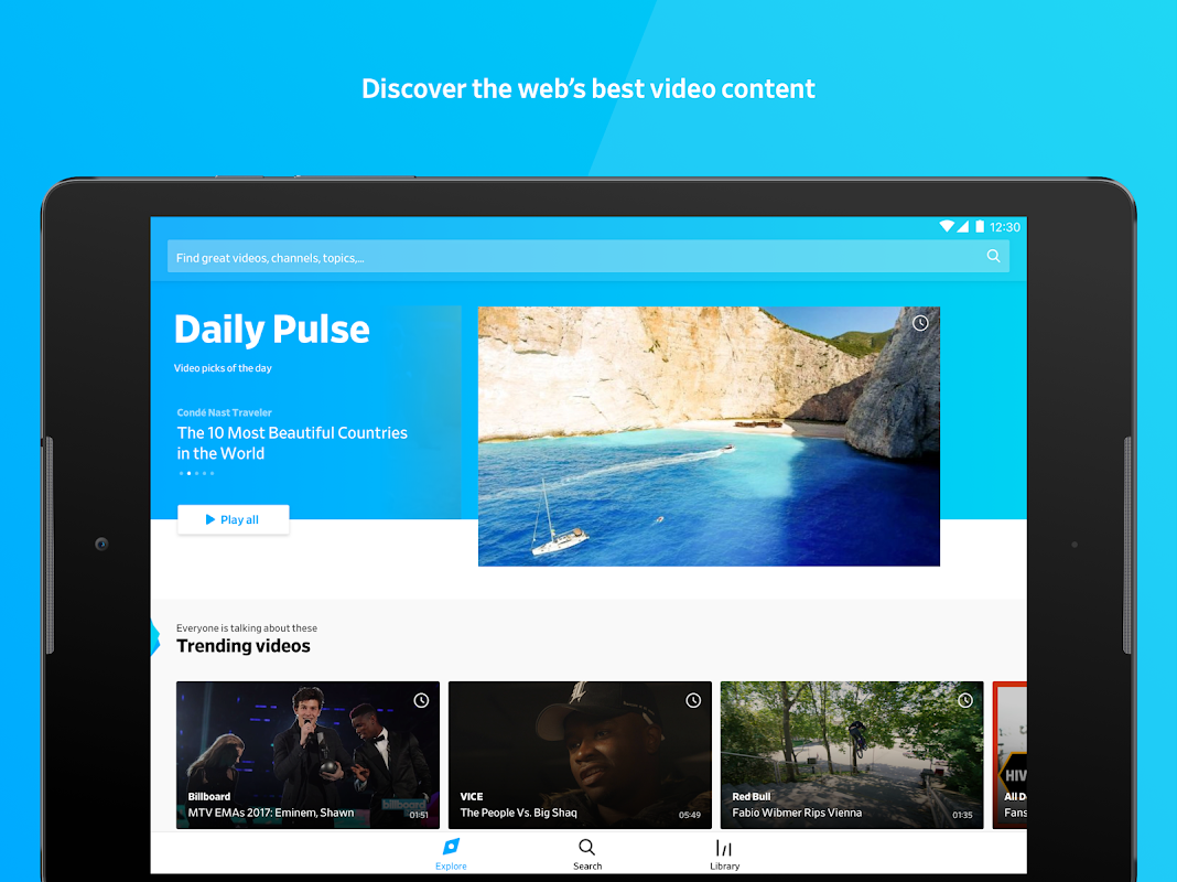 Dailymotion: Videos for now 1.31.29 Screen 7