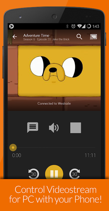 Videostream Chromecast: Mobile 1.18.02.27 Screen 2